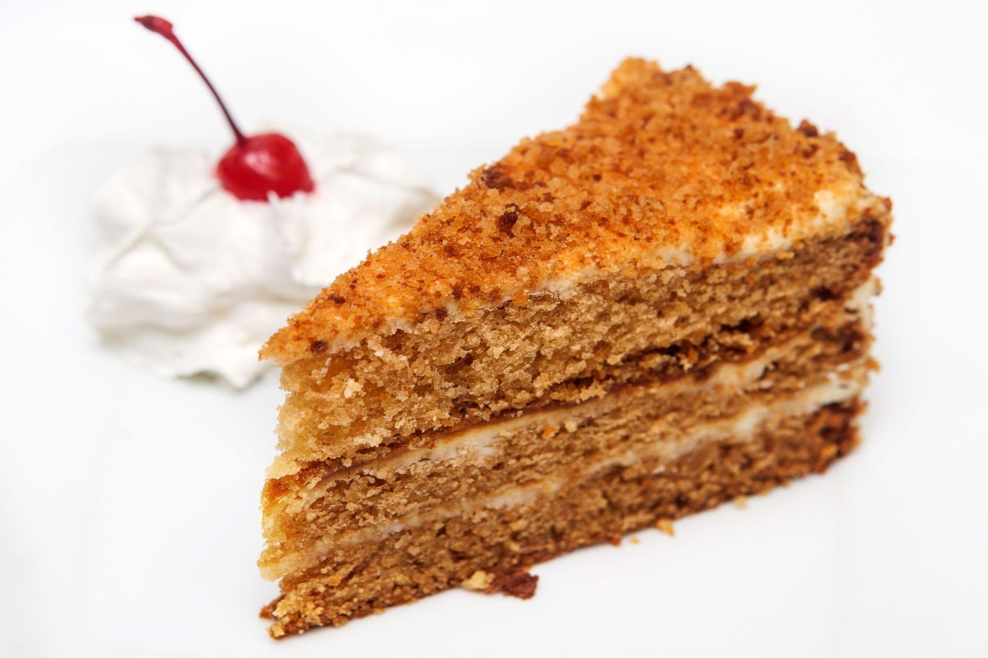 Торт медовый классический рецепт пошагово на водяной бане
